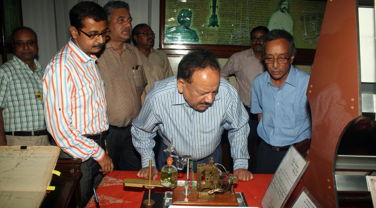 Harshvardhan visit 2