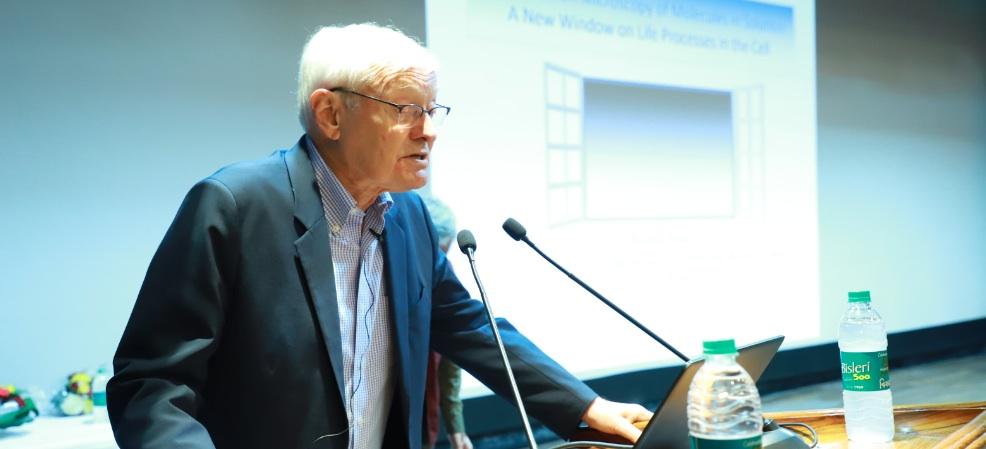 Nobel Laureate Joachim Franck